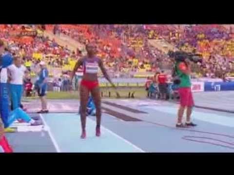Clasificación Caterine Ibarguen Salto Triple Mundial de Atletismo Moscú ...