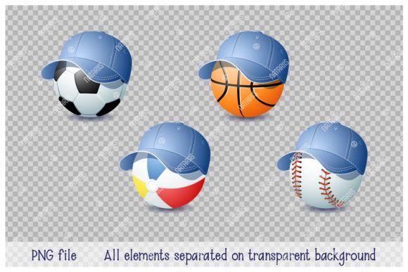 9 Summer Sports Balls Graphic By Natariis Studio Creative Fabrica