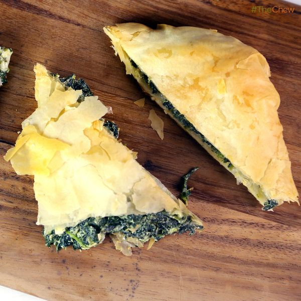 Carla - Spanakopita: Lemon-Scented Spinach and Feta Pie! #TheChew # ...
