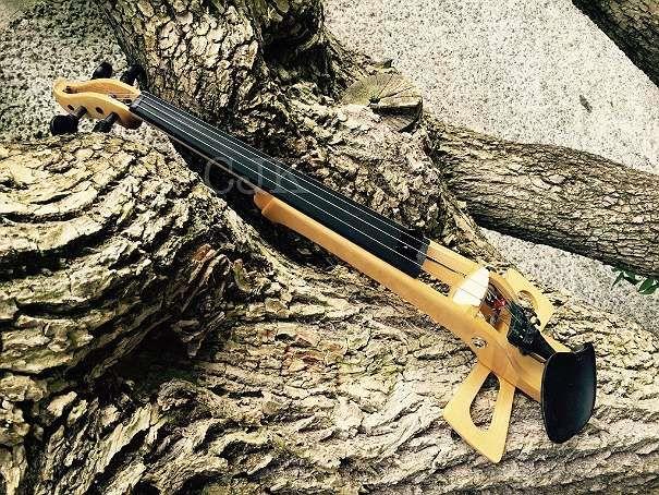 elektrische Violine, Handarbeit, Geigenbauer, Pickup