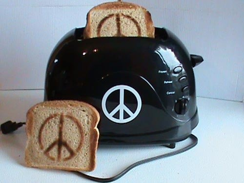 Toast - Peace Sign