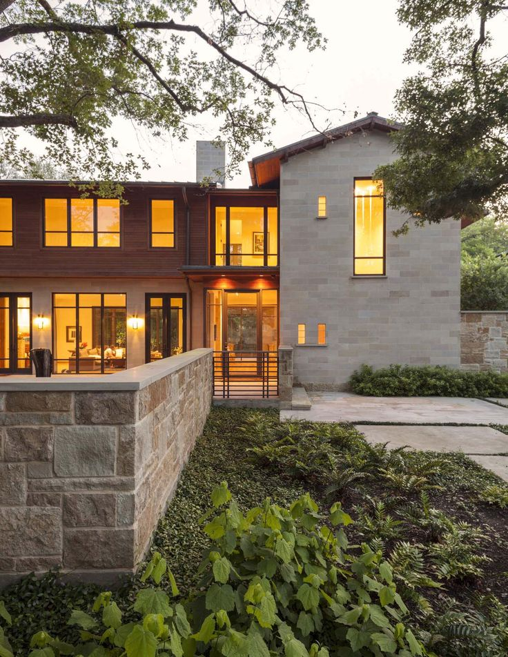 Modern Yet Warm Interiors Displayed In Striking Texas Dwelling. Contemporary  Homes ... Pictures