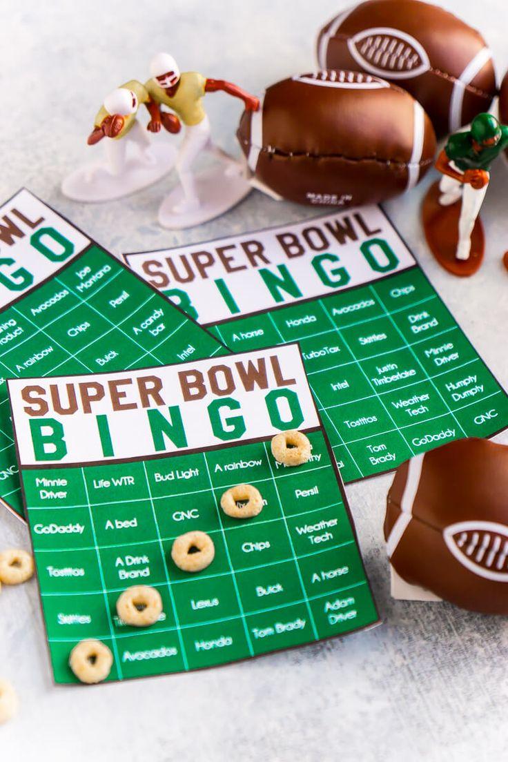 Les 25 meilleures idées de jeux de fête du Super Bowl sur Pinterest-9029