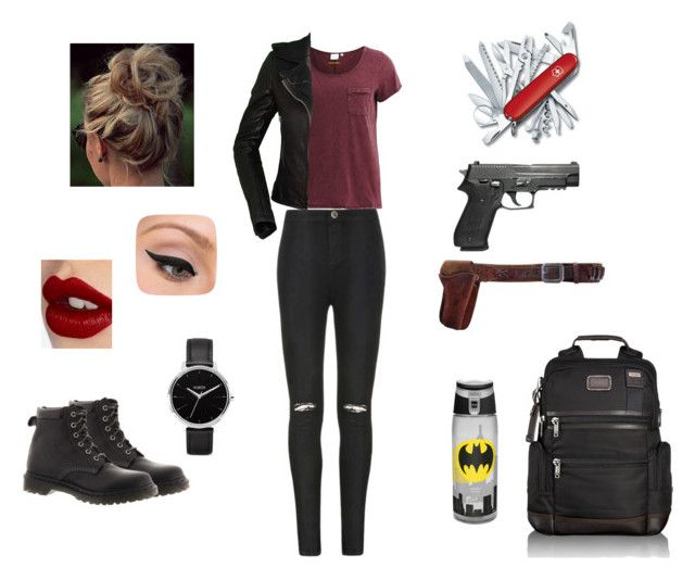 U0026quot;Zombie Apocalypse Outfitu0026quot; by museofdesign liked on Polyvore | Makeup u0026 beauty | Pinterest ...