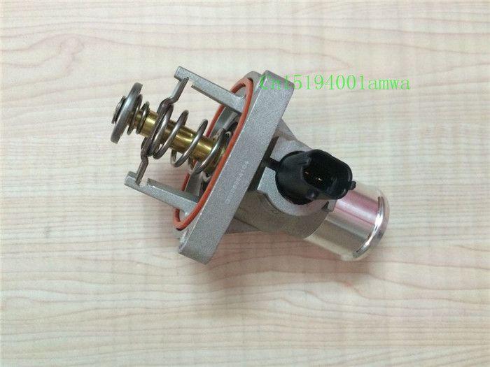 Engine Cooling Thermostat for Chevrolet Cruze Sonic Aveo Pontiac G3 ALFA ROMEO ORLANDO OPEL  MERIVA  VECTRA ZAFIRA B 55578419 #Affiliate