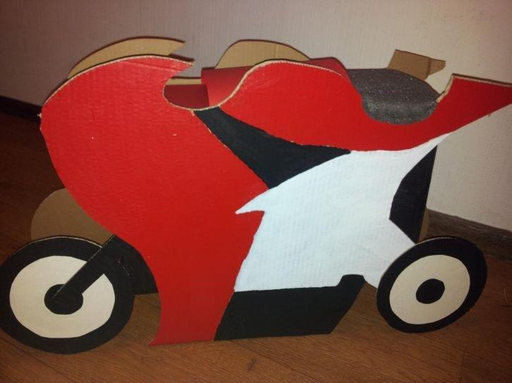 Motor Sinterklaas surprise