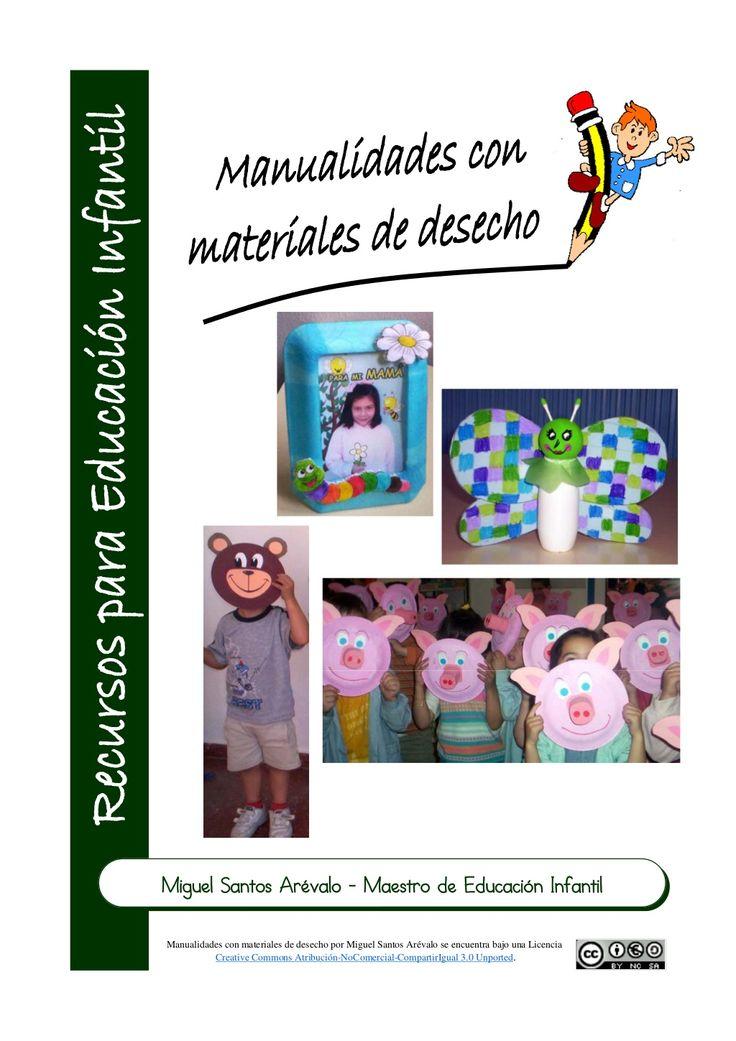 fichas-manualidades-presentation by Miguel Santos Arévalo via Slideshare