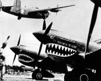 Flying Tigers in China Picture at Weider History