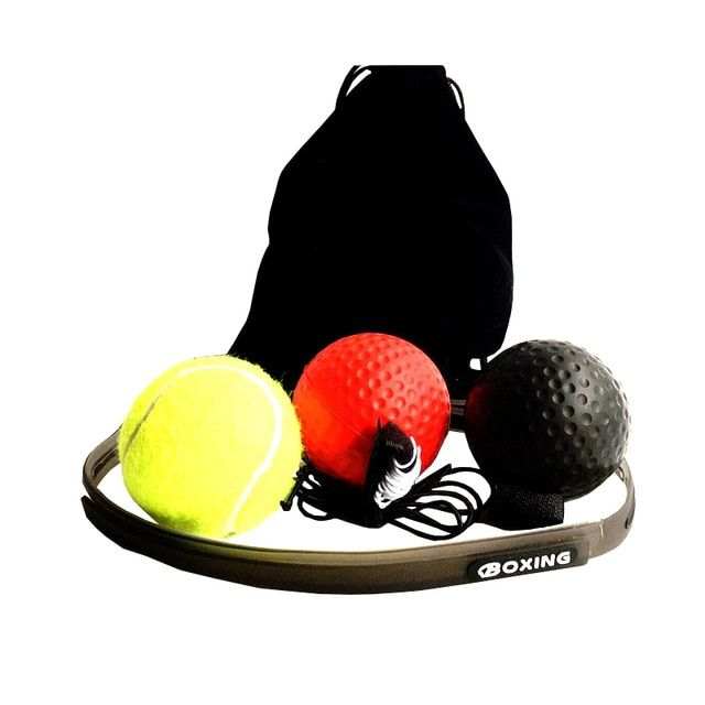 Boxing Reflex Ball Increase Reaction Agility Speed Training Ball With Head Band