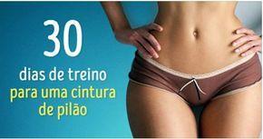 Aprenda como ter uma cintura de pilão em 30 dias - http://jornalprime.com/cintura-de-pilao-em-30-dias/