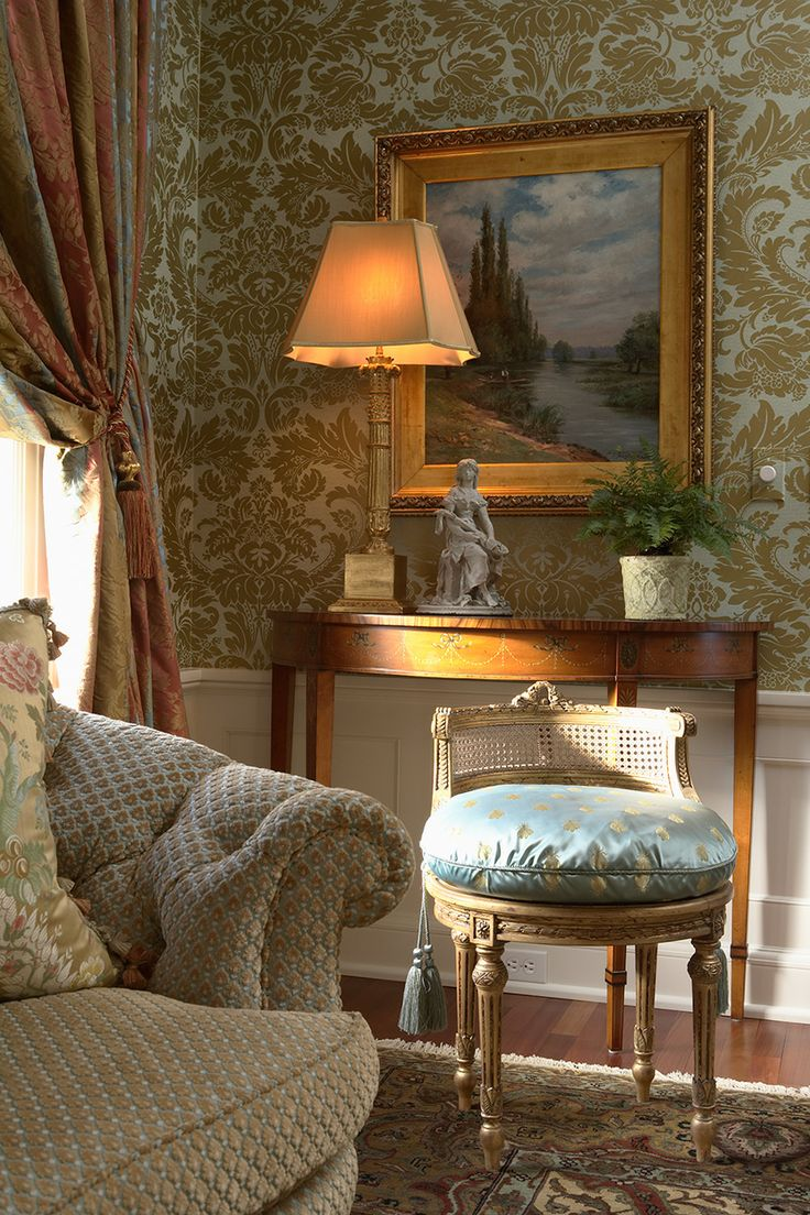 Find This Pin And More On Portfolio Indicia By Indiciallc Salon Traditional Living Room