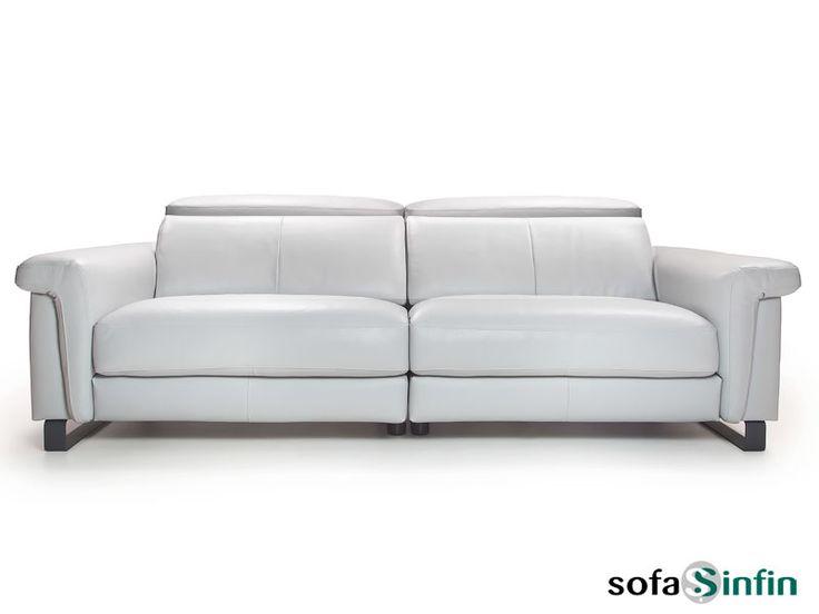 Sofassinfin.es Sofá moderno de 3 y 2 plazas modelo Truman fabricado por Losbu.