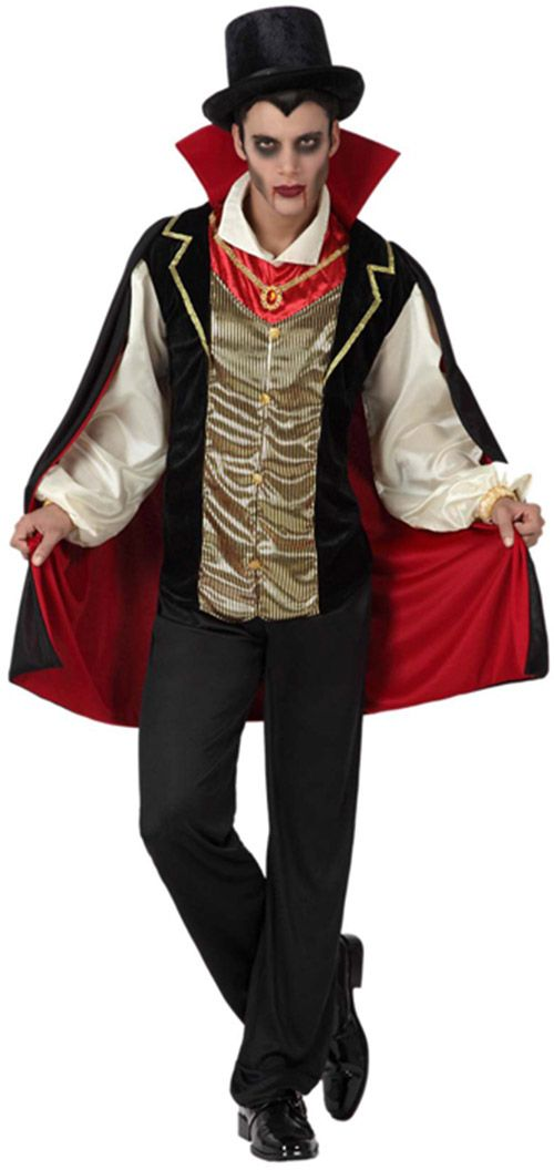 Disfraz de conde vampiro hombre : Vegaoo, compra de Disfraces adultos. Disponible en www.vegaoo.es