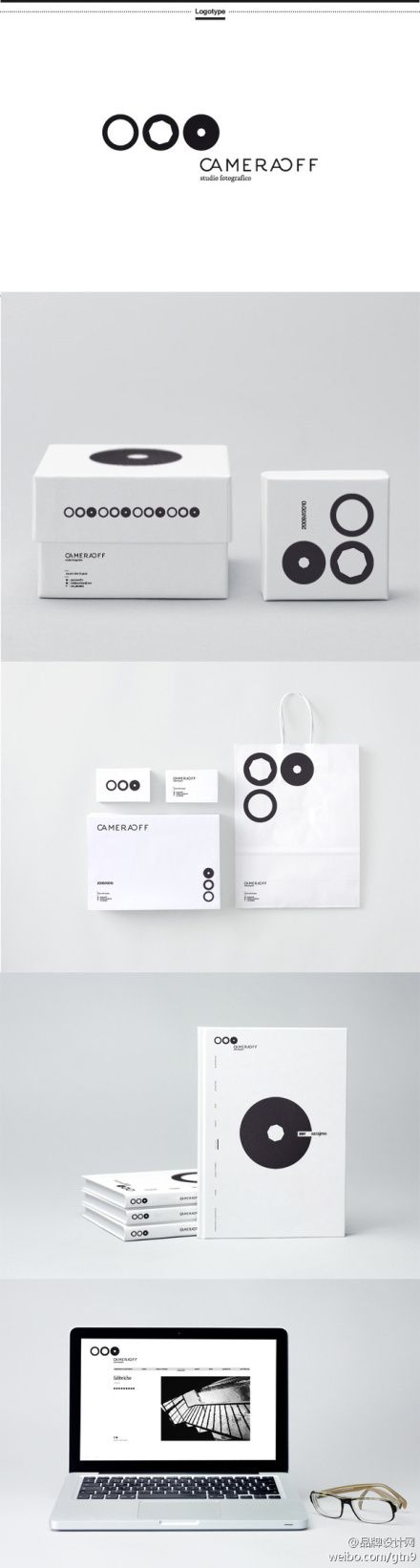 CameraOff branded flyer, packaging and website | Brand design: CameraOff @ nuaban |