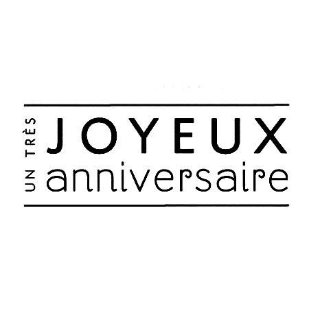 Exceptionnel 36 best Joyeux anniversaire images on Pinterest | Happy birthday  YG14