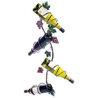Twine Grapevine: Vertical 4 Bottle Wine Rack - 468