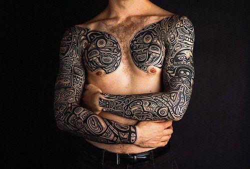 Tatuagem tribal – 67 fotos de tattoos tribais