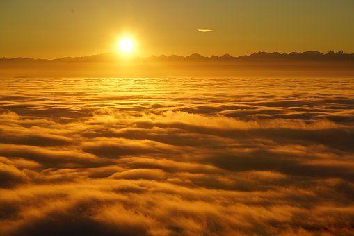 Wschód Słońca, Selva Marine, Chmury