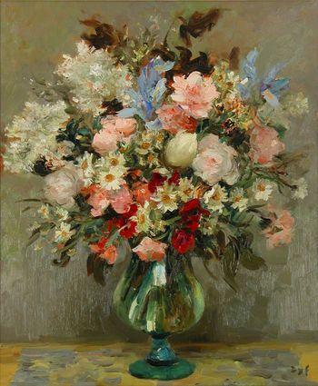 Marcel Dyf (1899 - 1985) - Les Belles Fleurs