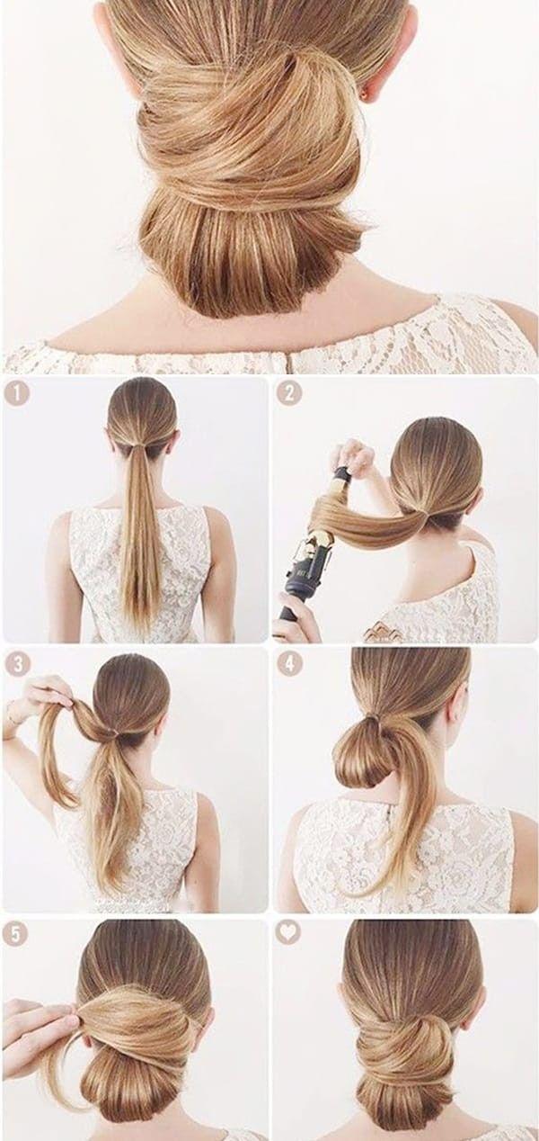 Side Ponytails Buns Hair Bun Tutorial Hair Styles Low Bun Hairstyles