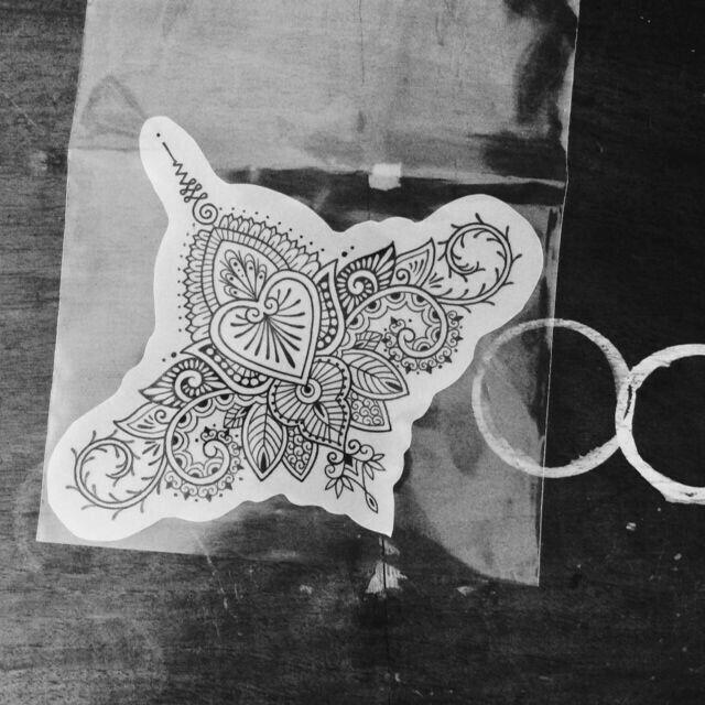 Mehndi Nape Tattoo : Best nape tattoos images on pinterest mandalas henna
