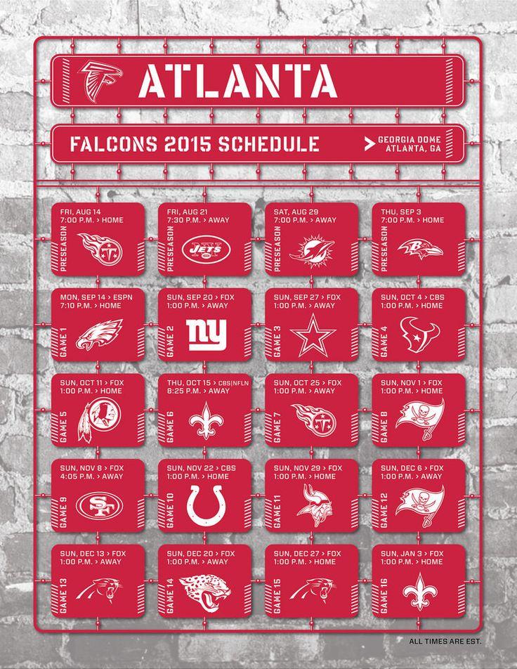 Atlanta Falcons schedule