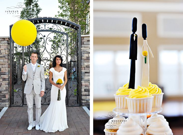 Yellow And Grey Themed Wedding Gallery - Wedding Decoration Ideas