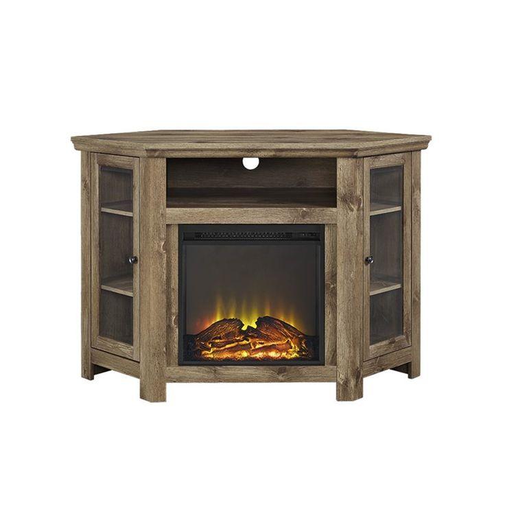 Best 25 Corner Fireplace Tv Stand Ideas On Pinterest Tv