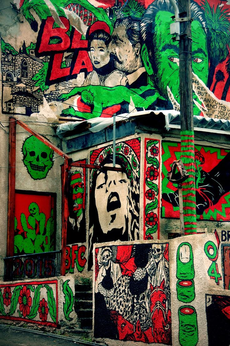 Broken Fingaz are currently in their hometown of Haifa in Israel, where they just finished working on a sick new piece. #brokenfingaz