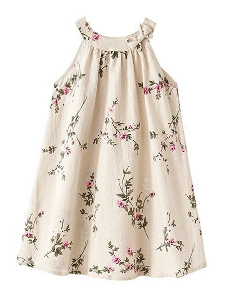 twinpo cream floral dress
