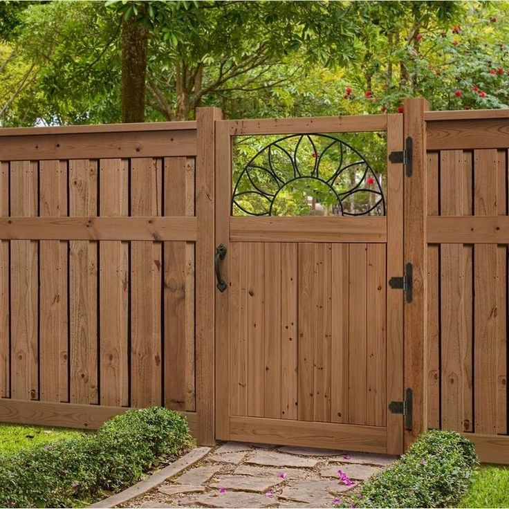 30+ Good Perfect Privacy Fence Ideas | Backyard fences ...