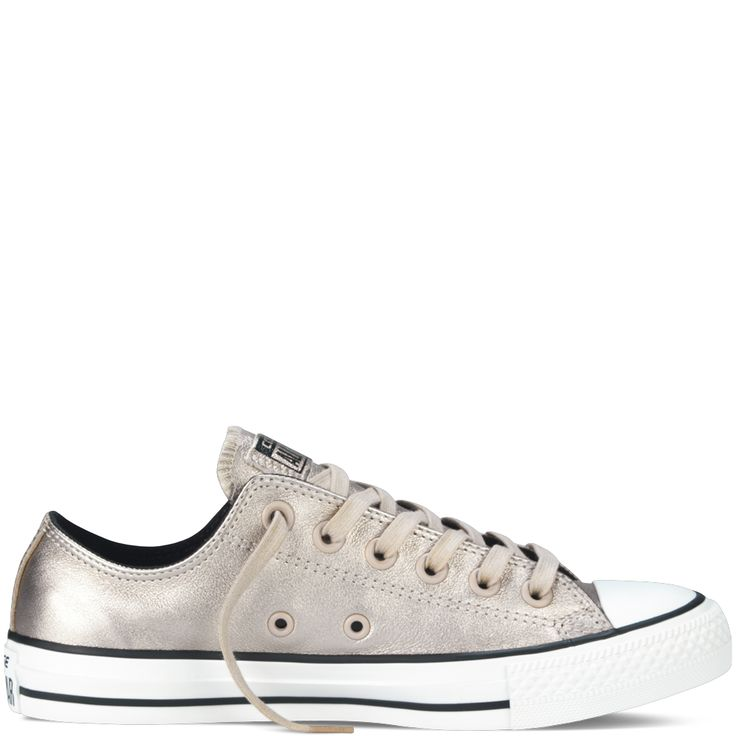 Converse - Chuck Taylor All Star Metallic - Portrait Grey - Low