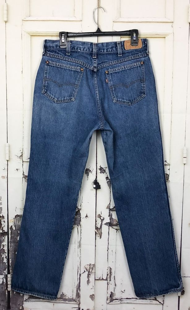 b950876eae5 Vintage Levis 557 Jeans For Cowboys Sz 34X31 Actual 32x30.5 Distressed  Cotton US #Levis #557ForCowboys