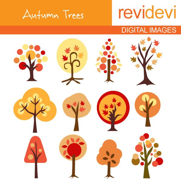 fall tree clip art   Autumn Tree Clip Art And Illustration Clipart Pictures