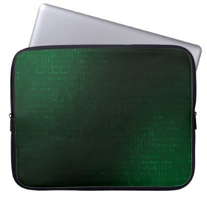 Cascade (SeaGreen) Neoprene Laptop Sleeve  $31.65  by Eds_Off_and_Elec  - cyo customize personalize unique diy idea
