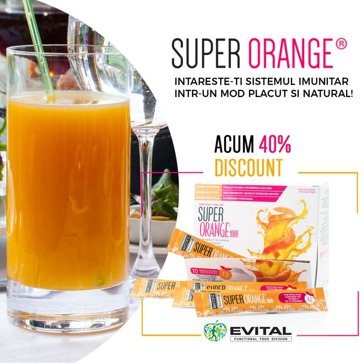 Incearca astazi Super Orange: https://evitalfunctionalfood.ro/super-orange-vitamina-c/