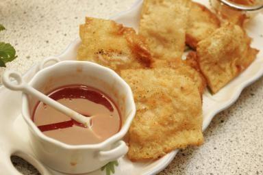 Best Dim Sum Crab Rangoon Appetizer Recipe