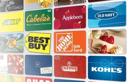 Double-up on your savings by buying discounted gift cards (now) and using them during sales events at your favorite retailers. They are awesome (less expensive) gift ideas too! Discover the latest gift card offers at eBay.