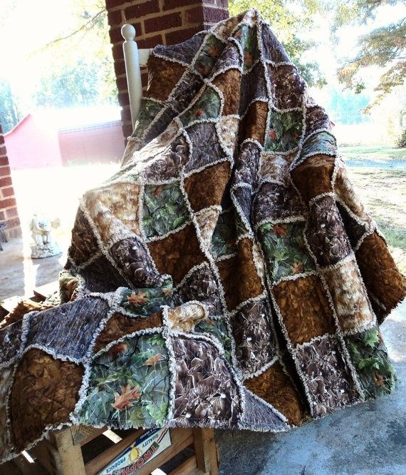 Camo Rag Quilt. I love this one! !! by Jelybu