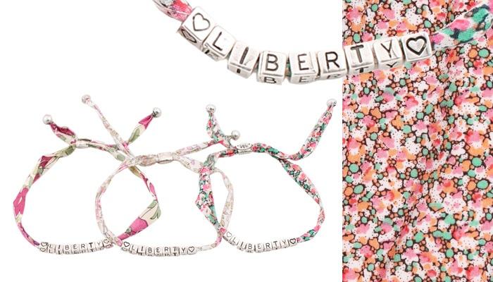 [GAS BIJOUX ♥ LIBERTY] Bracelets vendus exclusivement chez Liberty Regent Street London W1B 5AH