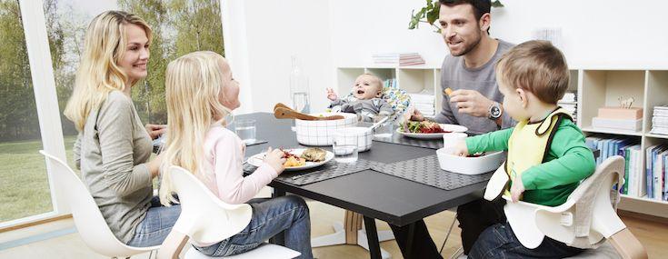 Nomi, Familie, Family, Dinnertime, Spisetid