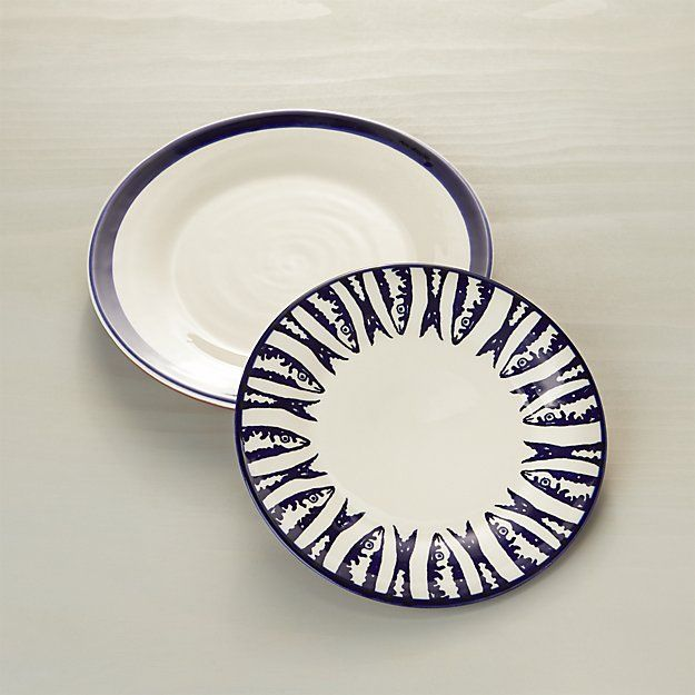 Pescado Dinner Plate | Crate And Barrel