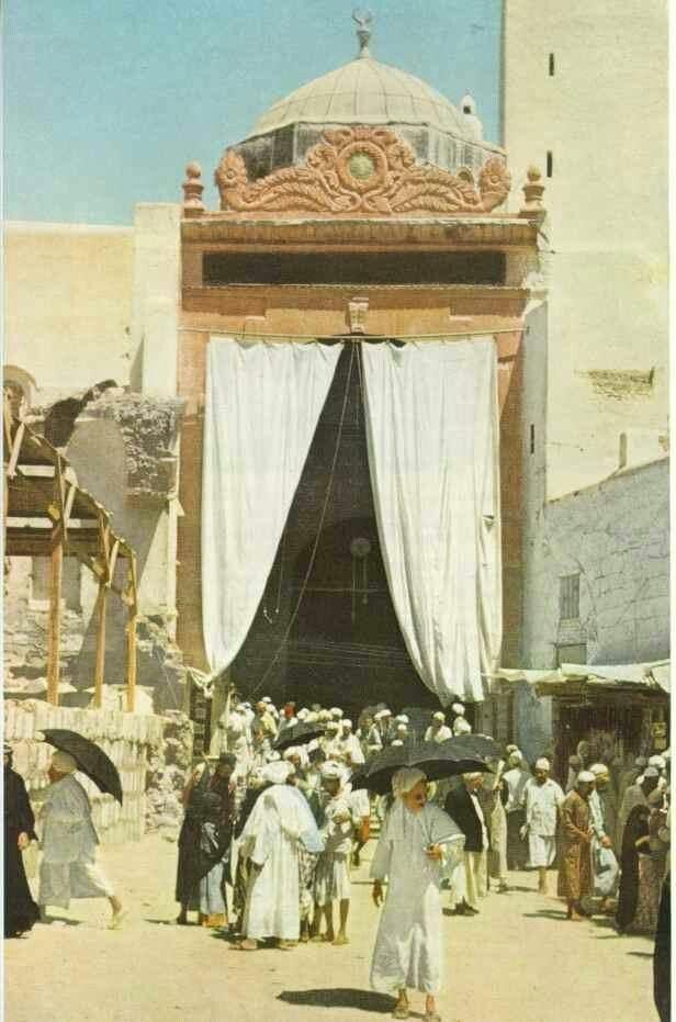 Prophet Mohammed Grave 1953 / Al Nabawi Mosque - Al Madina - KSA