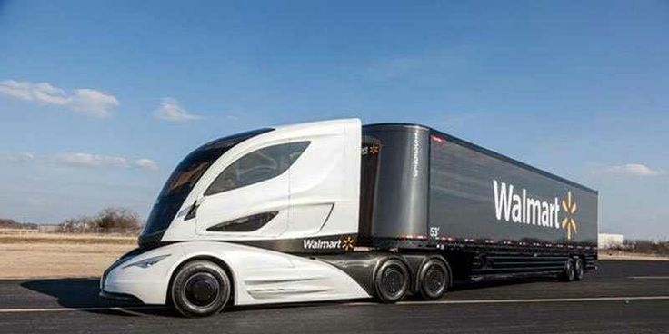Wal-Mart Designed A Wild Carbon Fiber Truck To Save Fuel