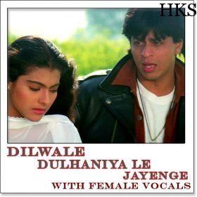 Name of Song - Tujhe Dekha To Ye (With Female Vocals) Album/Movie Name - Dilwale Dulhaniya Le Jayenge Name Of Singer(s) - Lata Mangeshkar, Kumar Sanu Released in Year - 1995  visit us: http://hindikaraokesongs.com/tujhe-dekha-to-ye-with-female-vocals-dilwale-dulhaniya-le-jayenge.html
