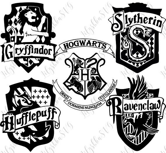Harry Potter Hogwarts Sticker Set Of 5 Vinyl Stickers Decals Official Licensed M