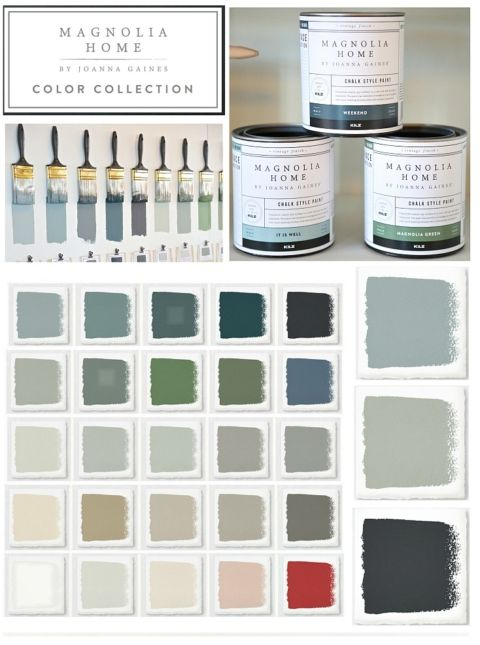 Magnolia Home New Chalk Style Paint from Joanna Gaines.