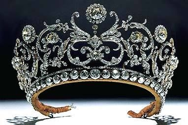 Made by famed royal jeweler Boucheron, it was owned by the Yugoslavian royal family. Called the Daisy and Leaves tiara, it was made in approximately 1907, and was given to Prince Paul of Yugoslavia by his aunt. Paul gave it to his wife, Olga of Greece and Denmark. After Olga's death, her daughter in law, Princess Barbara has been seen in this stunner many times. Sadly Barbara had to sell it, but it was purchased by the Albion Art Collection of Tokyo, and is traveling in various art…