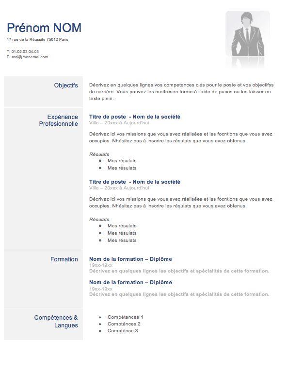 Exemple de CV Classique | Créer un CV
