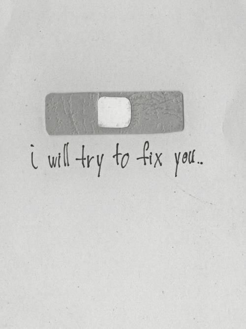 """Fix You,"" Coldplay lyrics"